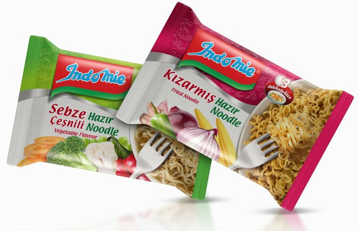 Modern, eye-catching packaging designs which can appeal local consumers easily were prepared for Income. #packaging #design #noodle #redesign