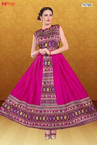 Women's Silk Fabric & Pink Pretty Circular Lehenga Style #Zinngafashion #Lehenga #DesignerLehenga  #Latest #Trend #Special #Offers #Pretty #Nice #Look #Wonderful #Pickoftheday #Specialday #Womenswear