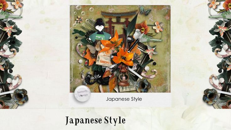 Japanese Style [Page kit] by butterflyDsign