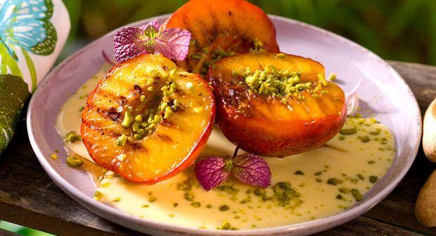 Nectarines grillées aux pistachesVoir la recette >>