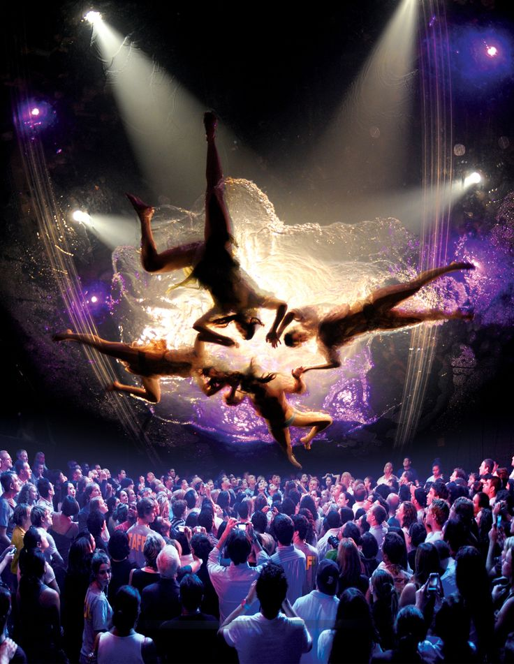 FUERZA BRUTA Look Up To σώου που αποθεώνεται στη Νέα Υόρκη, τώρα και στην Αθήνα! BADMINTON  Από 22 Σεπτεμβρίου 2013 και για λίγες μόνο παραστάσεις   Fuerza Bruta  Κοίτα ψηλά!