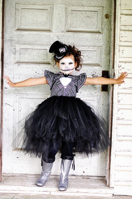 Jack Skellington Tutu Dress jack Skellington by GlitterMeBaby