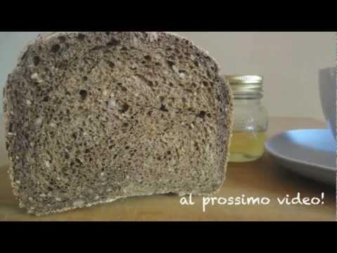 Ricetta PANE ai 7 cereali con macchina del pane-Cereals bread for bread machines