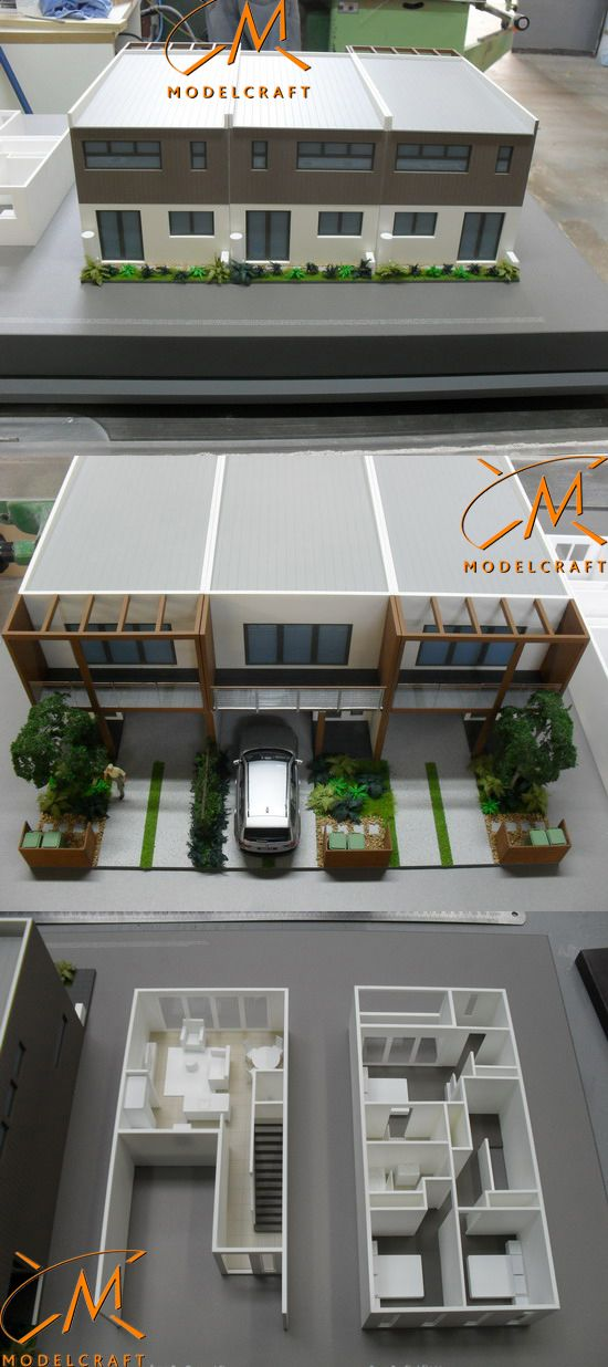 1:50 Valley Lakes House - Interior and Exterior. Architectural Model by Modelcraft (NSW) Pty Ltd