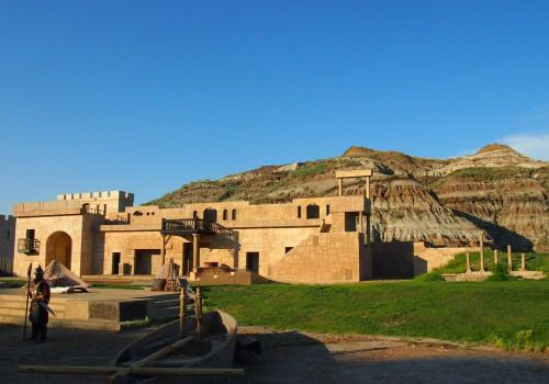 This is the outdoor ampitheatre where I saw the Canadians Badlands Passion Play. It's located just outside of Drumheller and made for a spectacular theatrical event.