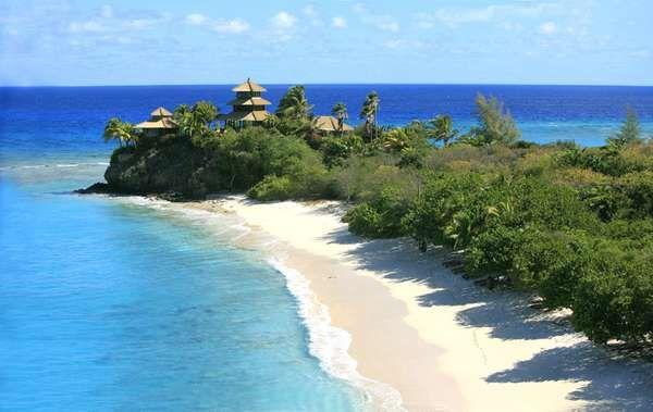 Necker Island, Richard Branson's Private Island. Amazing travel destination. Read more at