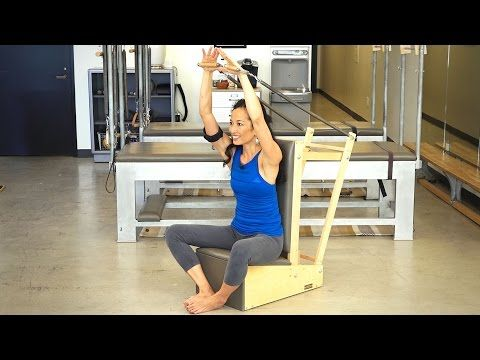 Arm Chair Rowing Sequence | Pilatesology