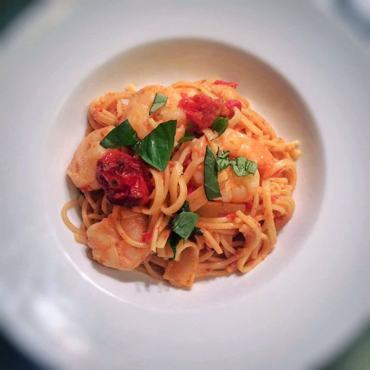 CHILLI PRAWN LINGUINE – 9SP