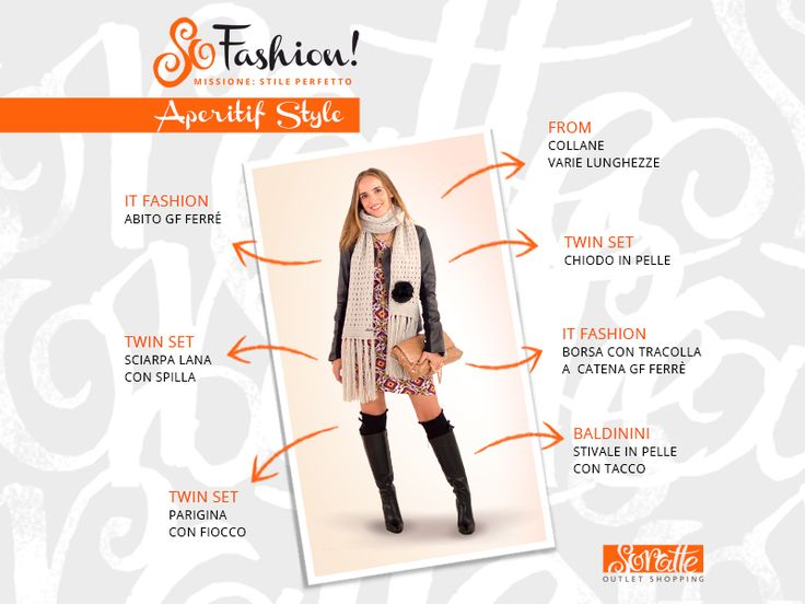 """Soratte Outlet Shopping - """"Aperitif Style"""""""