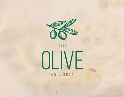 """Check out new work on my @Behance portfolio: """"The Olive Logo"""" http://be.net/gallery/36303565/The-Olive-Logo"""