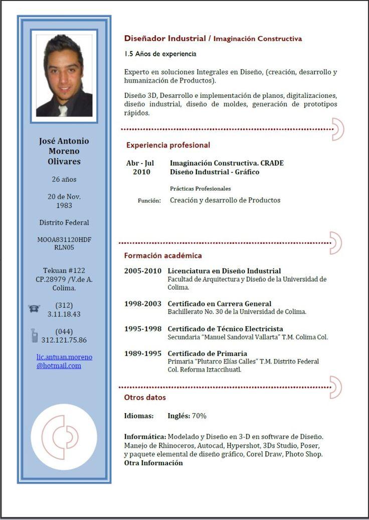 Resultados de la búsqueda de imágenes: Formatos Para Hacer Un Curriculum - Yahoo Search