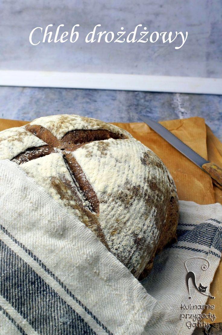Kulinarne przygody Gatity - przepisy pełne smaku: Drożdżowy chleb ze słodem