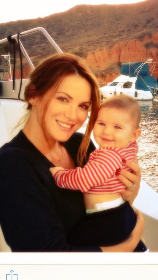 Danneel and JJ. Posted to Twitter by Danneel. Two ladies with lovely smiles!