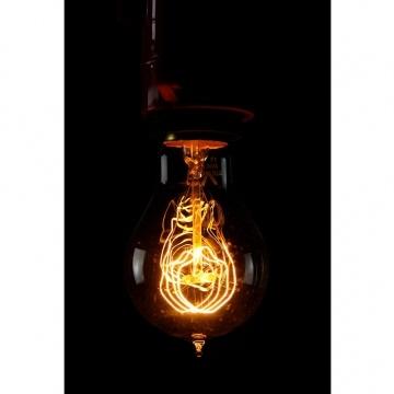 Edison style globe - add a unique soft light feature