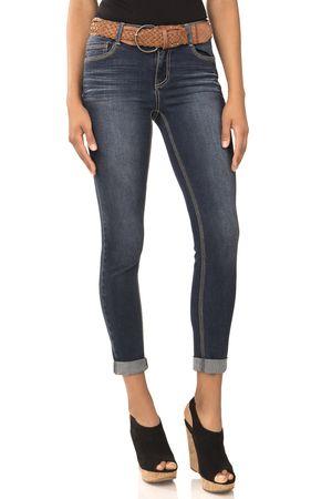 Cheryl Burke's Favorite Rolled Up Skinny Jeans In Emma