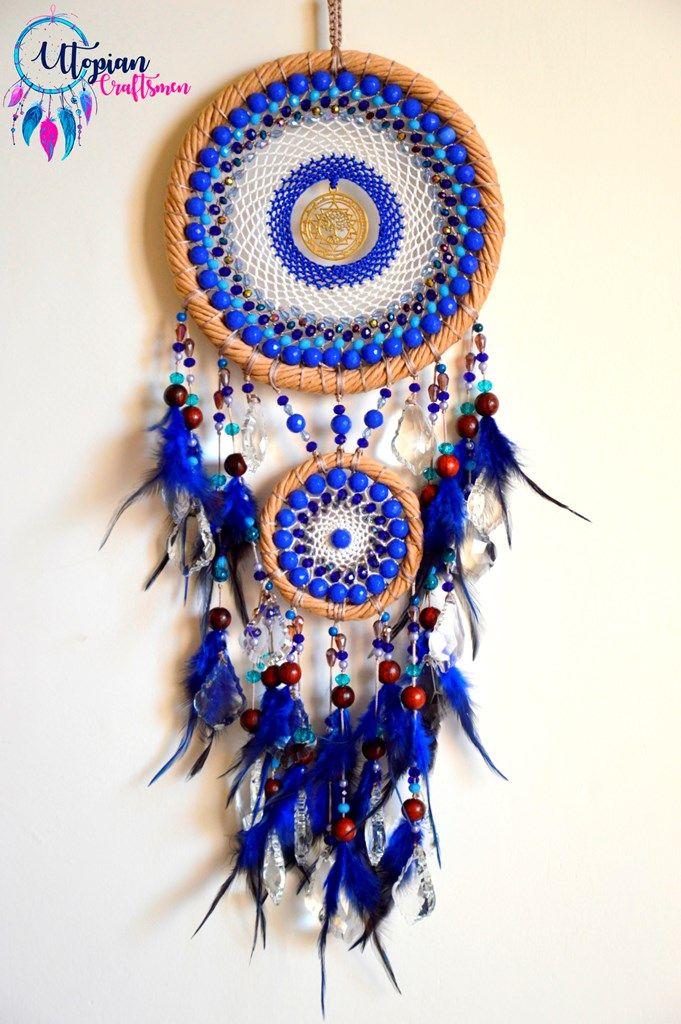 Dreamcatchers by Utopian Craftsmen. Artist - Anusha Bhadauria. +91 909 659 5656