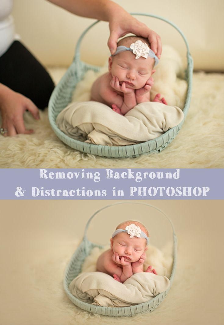 Watch how super easy it is to remove distractions in your background in this…