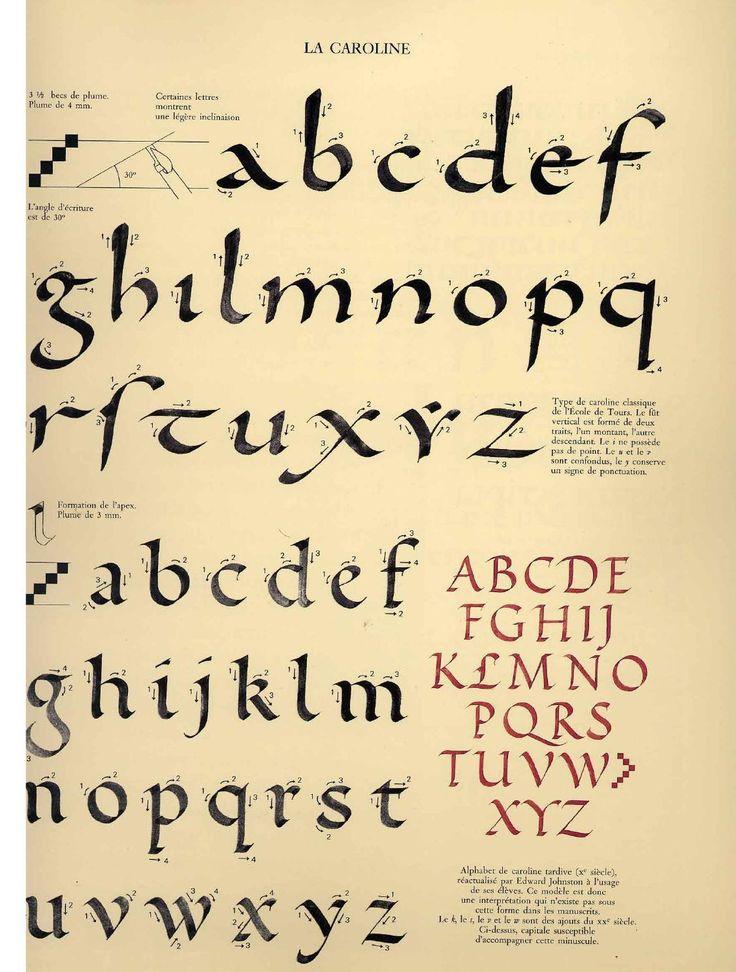 Calligraphie claude mediavilla ductus calligraphy