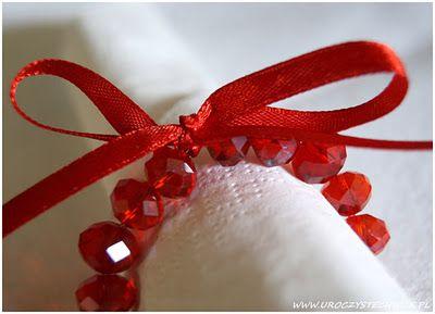 Świąteczny serwetnik