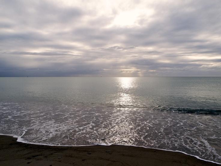 Haumoana Beach, Hawke's Bay this morning.