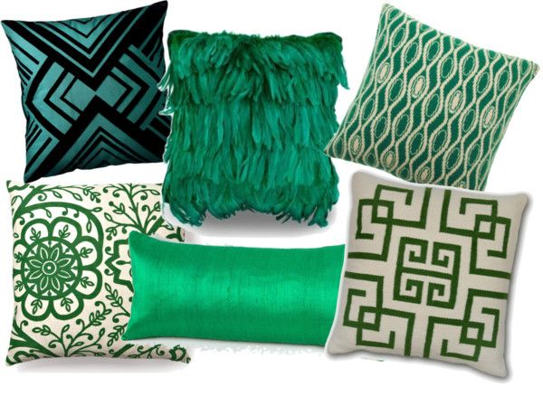 78 best ideas about green throw pillows on pinterest - Emerald green throw blanket ...
