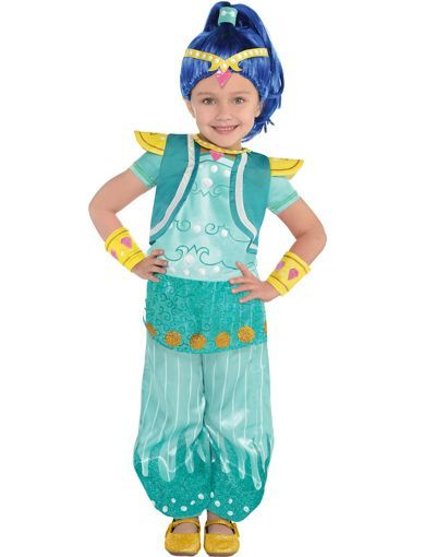 Toddler Girls Shine Costume - Shimmer and Shine - Party City Canada --- Halloween 2016