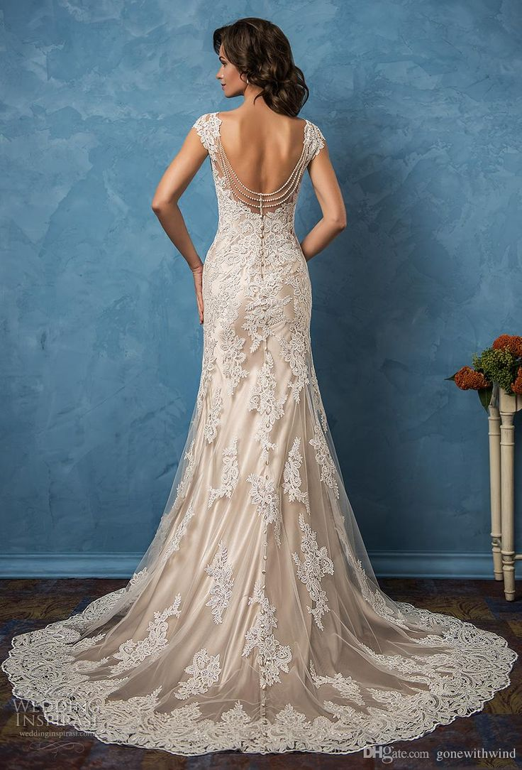 57 best wedding dresses images on Pinterest   Short wedding gowns ...