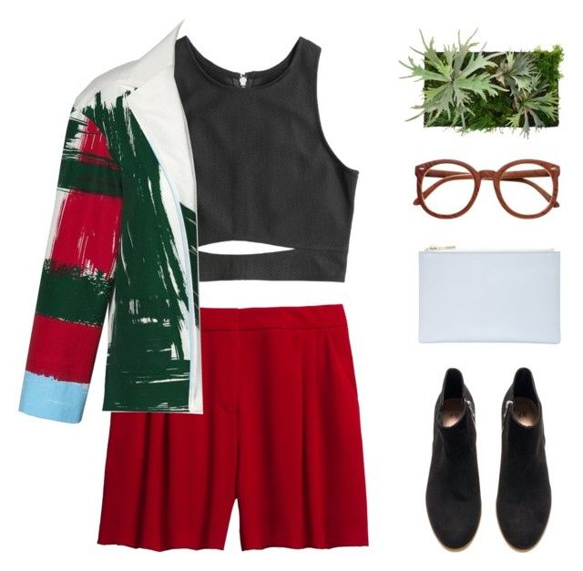 """""""Paint Your Look With Canvas by Lands' End: Contest Entry"""" by monicanne ❤ liked on Polyvore featuring Canvas by Lands' End, H&M, Whistles, contest, canvas, landsend and paintyourlook"""