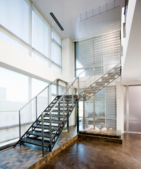 40 Trending Modern Staircase Design Ideas And Stair Handrails: Modern Handrail Designs That Make The Staircase Stand Out