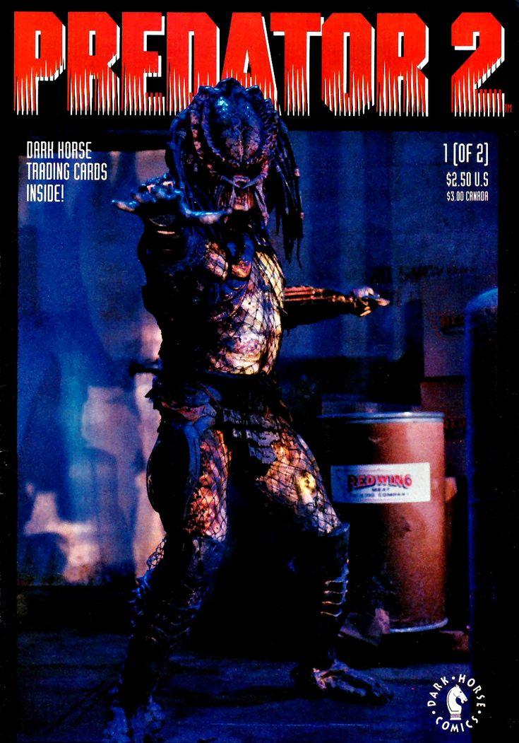 Predator 2 comics: Issue 1 Cover