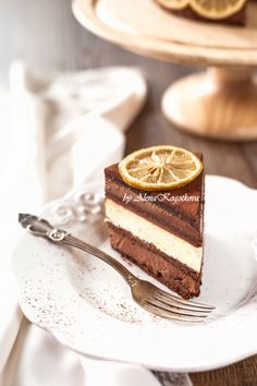 "Recipe for one of Pierre Herme famous cake ""Riviera"", that combines layers of chocolate mousse, lemon cream and a Chocolate (flourless) base/cake."