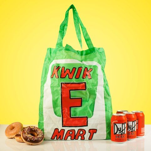 Kwik-E-Mart Reuseable Bag from Firebox.com