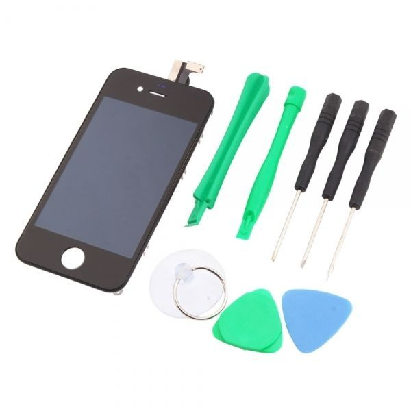 amazones gadgets F, Screen Digitizer Replacement Assembly iPhone 4 GSM Tools Sets Black Cost-effe: Bid: 24,57€ Buynow Price 24,57€…