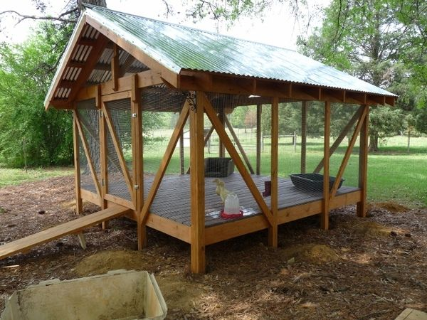 Awesome walk in duck coop duck coops pinterest for Can ducks and chickens share a coop