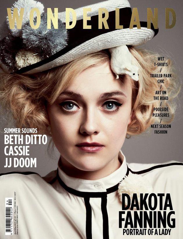 @wonderlandmag - Dakota Fanning by Cedric Buchet Wonderland Magazine | April/May Issue |