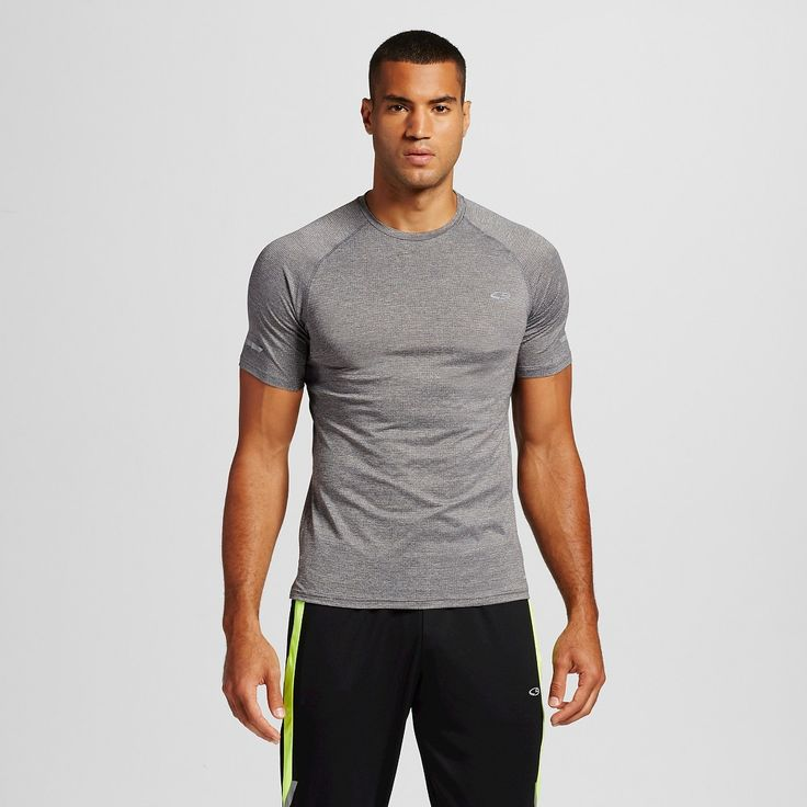 Men's Premium Running T-Shirt Railroad Grey Heather 2XL - C9 Champion, Size: Xxl, Railroad Gray