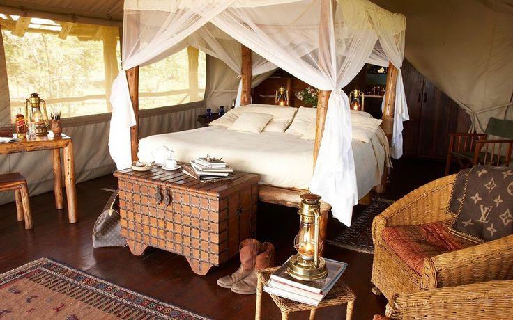 Luxury Safari Tent   Campi ya Kanzi - Kenya