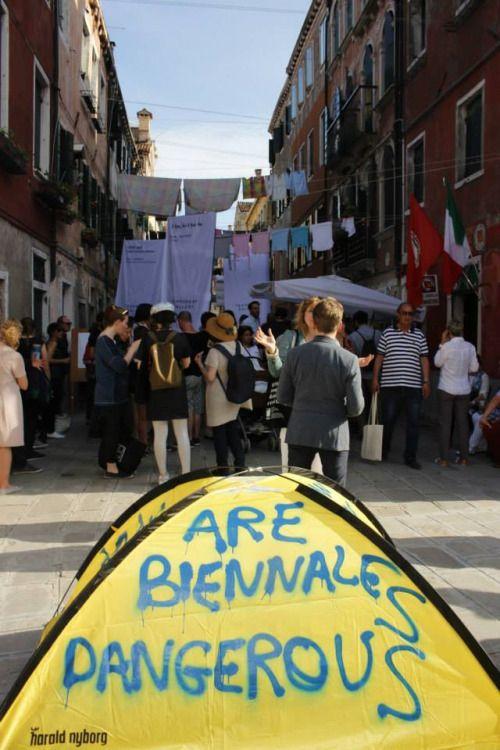 """"""" ARE BIENNALE DANGEROUS ? COPENHAGEN ULTRACONTEMPORARY BIENNALE @ Venice Biennale http://copenhagenbiennale.org/"""