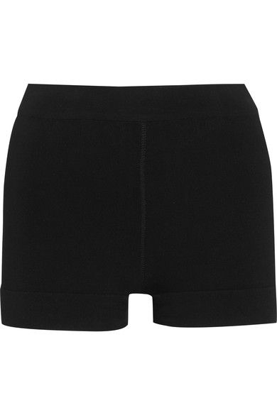 Alaïa - Stretch-knit Shorts - Black - FR