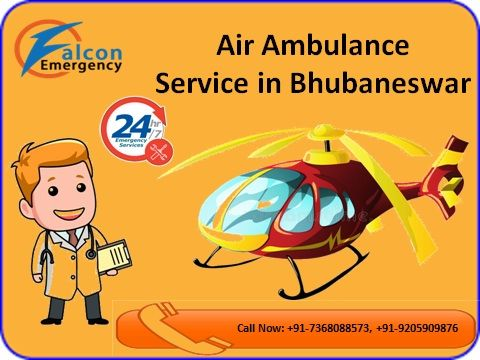 The ICU patients 24 hours open for air ambulance service in Bhubaneswar by Falcon Emergency at low cost. . There is no extra charge but exact cost by Falcon Emergency air ambulance service. Visit Details: - http://www.falconemergency.com/air-ambulance-services-from-bhuvneswar/