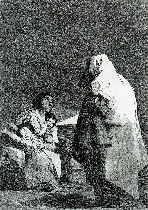 Francisco Goya - Los Caprichos.No. 3: Here Comes the Bogeyman