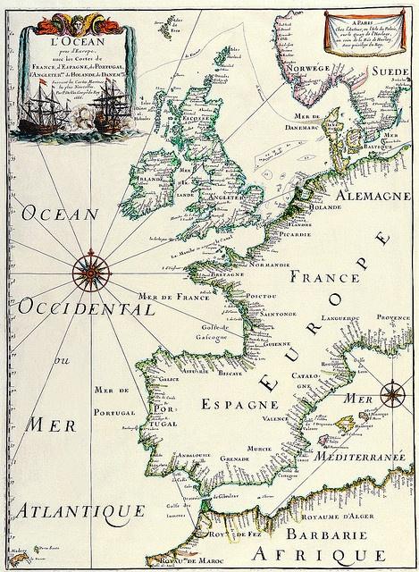 World Map 1641