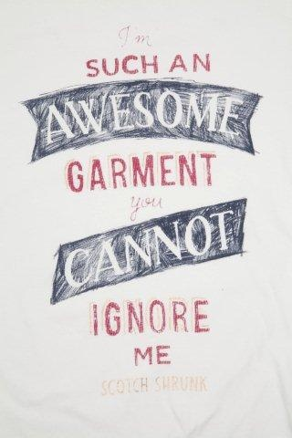 Couldn't agree more! We're loving all the #ScotchShrunk T-shirt's from @Scotch_Official this season!!