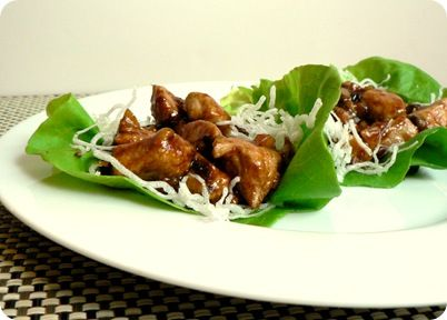 Copycat recipe for PF Chang's Chicken Lettuce Wraps