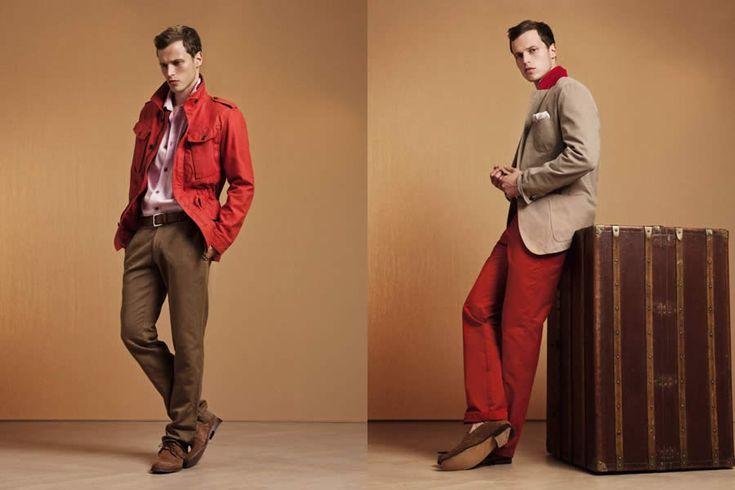Façonnable Pre Autumn/Winter 2012 Men's Lookbook
