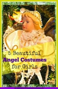 It's Christmas pageant time! Here are 5 Beautfiful Angel Costumes for Girls