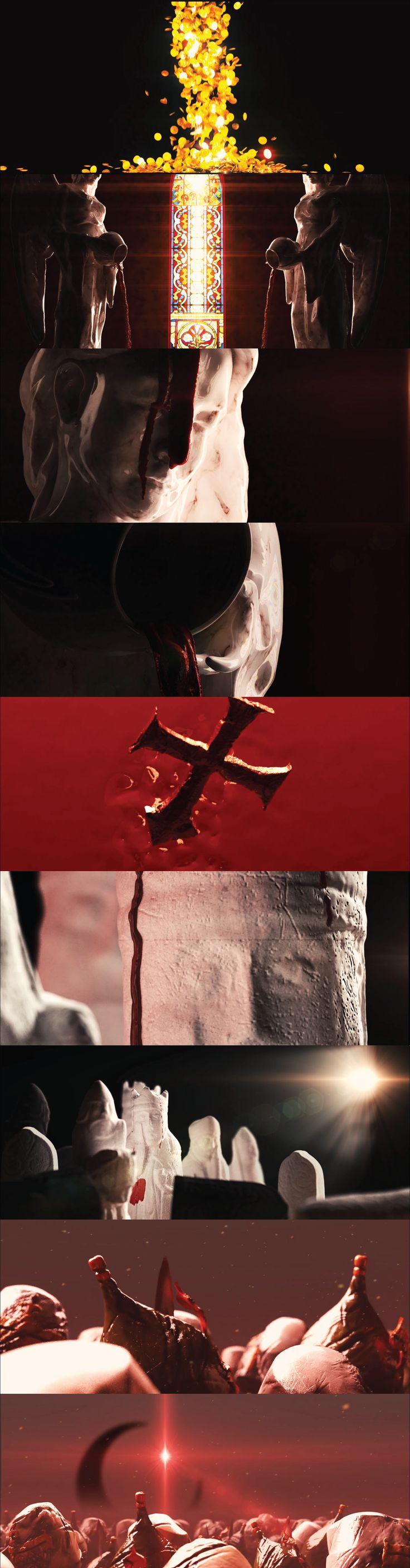 """""""Bloodshed of faith"""" Styleframes"""
