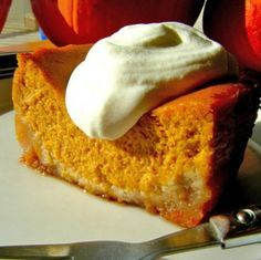 Holiday Indulgences: Sugar-Free Pumpkin Gooey Butter Cake (a tribute to Paula Deen) | Healthy Indulgences