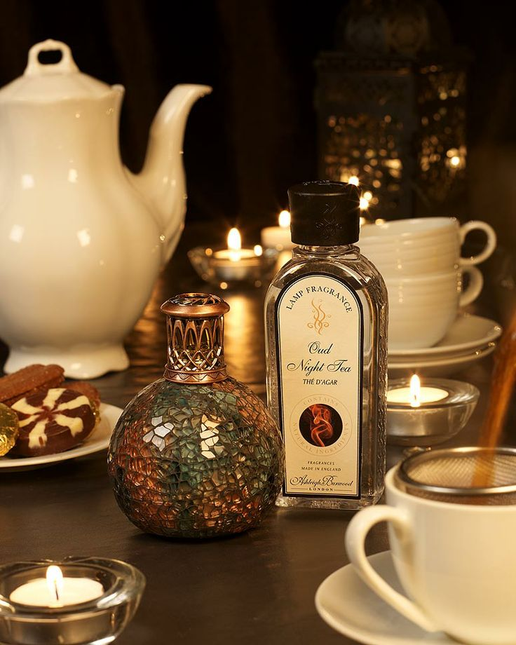 Lampa Zapachowa - Bluebird Wkład do lampy - Oud Night Tea