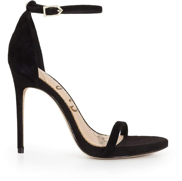 Ankle Strap Sandal is sexy and sophisticated in tandem. This sleek stiletto is inspired by Parisian style and adds both edge and glamour to any an evening look.  #prom #sandals #eveningdresses #style